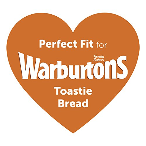 Breville 2-Slice Toaster the Perfect Fit for Warburtons – Silver