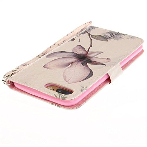 AIXIN Wallet Flip Motif coloré Case Cover Housse Portefeuille Etui Pour Coque Apple iPhone 7 Plus (2017) Smartphone, stylet inclus (Design 7 ) Design 11