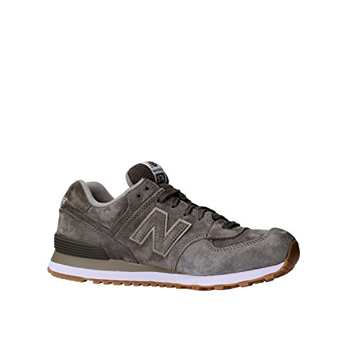 New Balance Ml574 D (13h), Baskets Basses Homme grey (ML574FSC)
