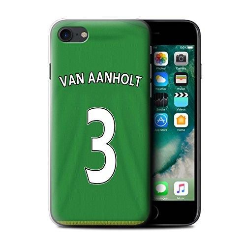 Offiziell Sunderland AFC Hülle / Case für Apple iPhone 7 / Defoe Muster / SAFC Trikot Away 15/16 Kollektion Van Aanholt