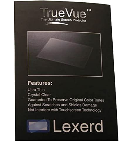 Lexerd - Protection Ecran Transparente TrueVue pour MP3 iLuv 7 inch Portable Multimedia for iPod