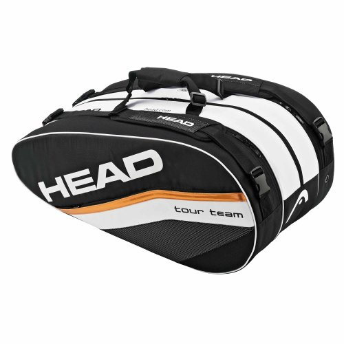 Head Djokovic Monstercombi-Schläger schwarz/weiß/orange