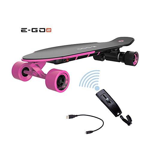 Yuneec EGO 2 E-Longboard Hot Pink inkl. Zubehör Elektro Longboard E-GO 2