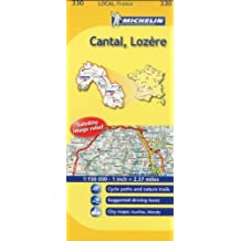 Michelin Map France: Cantal, Lozre MH330 (Maps/Local (Michelin)) (English and French Edition) by Michelin (2011-01-16)