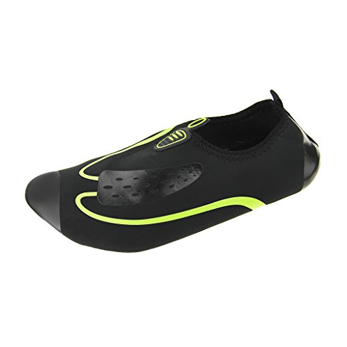Unisexe Chaussures d'eau Basses Adultes Hommes Femmes Respirant Chausson de Maison Sport Formation Fitness GYM Yoga Aquatiques en Néoprène pour Plage Piscine Nage Plongée Surf