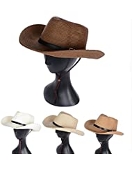Big D'Été Eaves Hat Men'S Jazz Hat Man Fashion Hat Version Coréenne Chapeaux Grande Plage Bord D'Été Sun-Proof