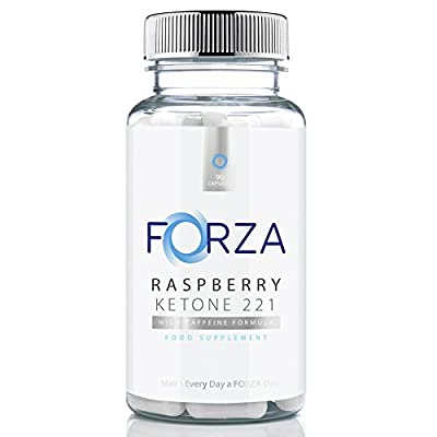 FORZA Raspberry Ketone 2:2:1 - High Strength Diet Pills with Pure Raspberry Ketone for Weight Loss - 90 Capsules by Forza