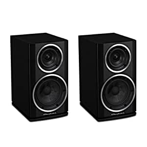 Wharfedale Diamond 121 Bookshelf Speakers (Pair) (Blackwood)