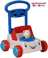 Mothertouch Bear Rider Ride On for Infants (White)