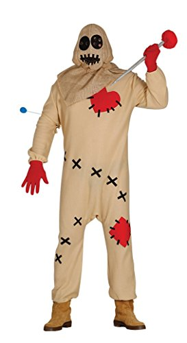 Kostüm Puppe Voodoo Kinder - Voodoo-Pin Erwachsenen Kostüm Gr. XL
