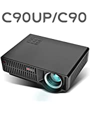 Jteck Vivibright LED Mini Home Projector 1280x720 720P 2200 Lumens Home Theater Video Projector HD Supports 1920 * 1080