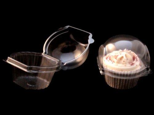 der Cupcake-Behälter mit Kuppel, 10er-Pack ()