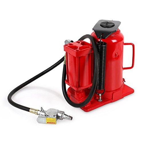 EBERTH 20T Gato botella (neumático, hidráulico, 160 mm Altura de elevación, Altura mínima 270 mm, Válvula de seguridad)