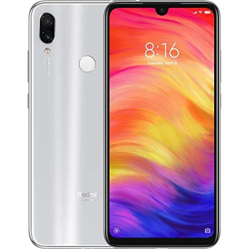 "Xiaomi Redmi Note 7 Blanco,Plata 64gb+4gb Dual SIM (6.3"") 48+5 MP 4000mAh (Version Española)"