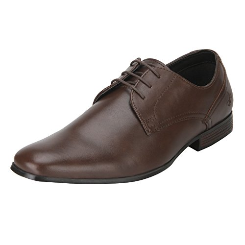 Bond Street by (Red Tape) Men's Brown Formal Shoes - 8 UK/India (42 EU)