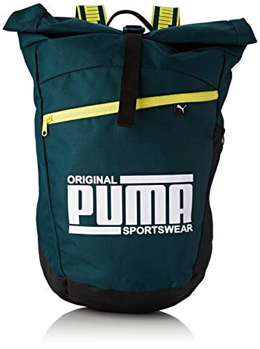 Puma Sole Backpack Rucksack Ponderosa Pine-Blazing Yellow, OSFA