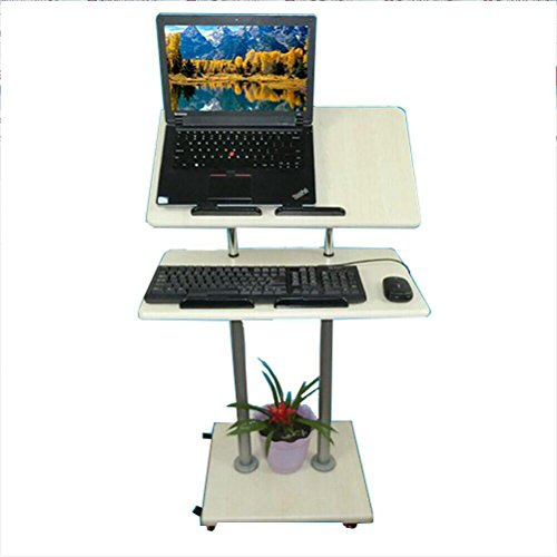 CL-@ Stand-Up-Computer-Schreibtisch - Stand-Stand-Schreibtisch Laptop-Tisch...