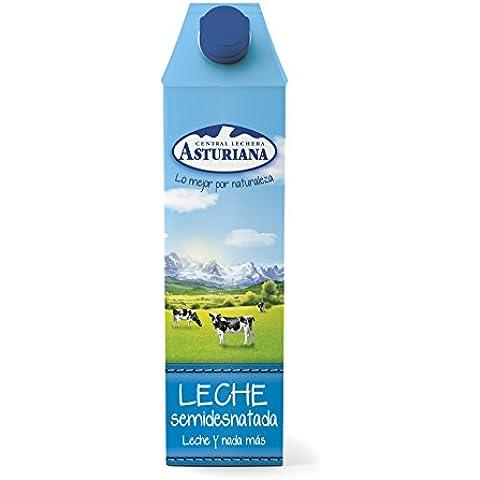 Central Lechera Asturiana Leche UHT Semidesnatada - 1 l