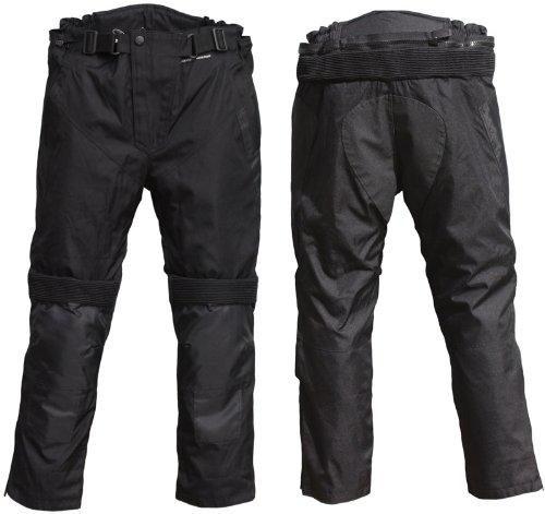 STREET-CYCLE Motorrad-Stiefelhose DEFENDER Farbe schwarz Grösse 6XL normal