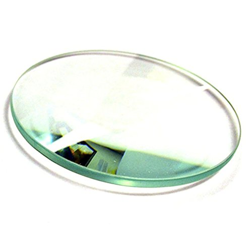 Wissenschaftliche ueetek Glas poliert konvexe Linse Doppelte Laboratorien optischer Glas konvexe Linse Bi 55mm Durchmesser