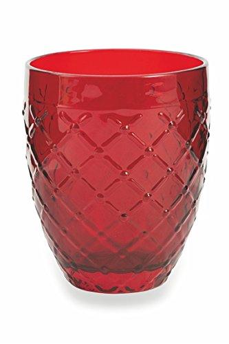 comprare on line Villa d'Este Home Tivoli Rombi Set Bicchieri Acqua, Multicolore, 6 Unità prezzo