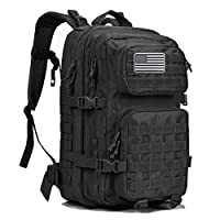 G4Free 40L Military Tactical Backpack Large Army Assault Pack Molle Shoulder Bag Rucksacks Daypack for Outdoor Hiking Camping Trekking Hunting