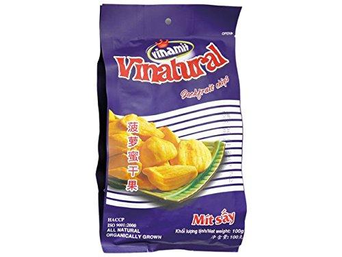 Naturbelassene Jackfruchtstücke - ohne Zuckerzusatz - Vinatural - 100 g
