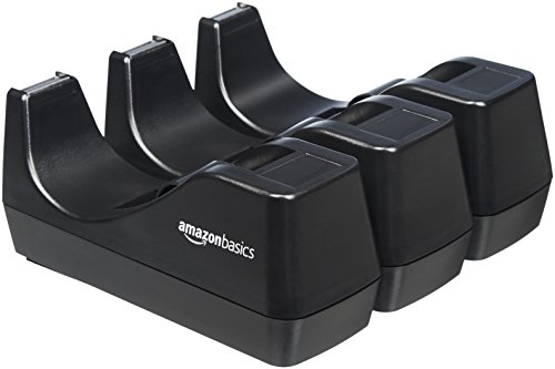 AmazonBasics - Dispensador de cinta adhesiva, Juego de 3
