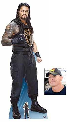 BundleZ-4-FanZ Roman Reigns WWE Wrestler Lebensgrosse und klein Pappfiguren/Stehplatzinhaber/Aufsteller - Enthält 8X10 (25X20Cm) starfoto