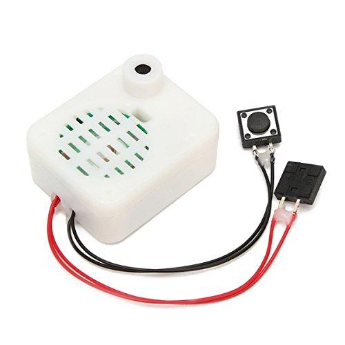 LaDicha 3Pcs 30S Schaltfläche Beschreibbare Voice-Modul Music Box Schallplatte Für Plüsch Puppe Spielzeug Geschenk Eine Klare Wireless-modem-router