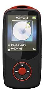 Agptek A06 Lettore MP3 Bluetooth 4.0 multifunzione 50 ore di riproduzione continua capacità di 8GB (sostegno Micro SD 64GB), Rosso