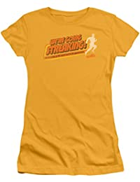 efc780b6 Old School College Fraternity Comedy Movie Streaking Juniors Sheer T-Shirt  Tee