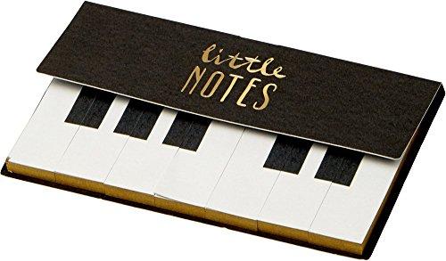 Haftnotizen Little Notes mit Goldschnitt und Bleistift