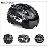 #5: Goggles Helmet Ultralight and Breathable Mountain Bike Ride Helmet-Color 02