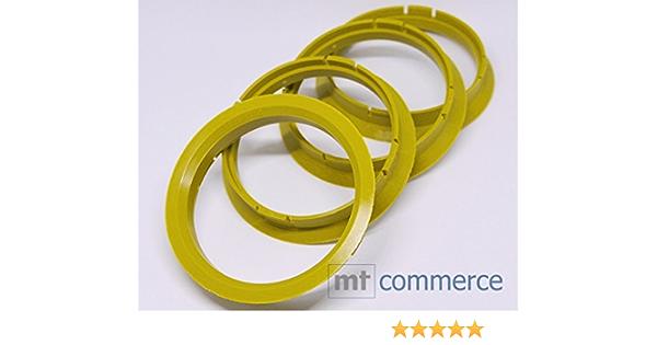 Crk 4x Zentrierringe 72 5 X 66 6 Mm Gelb Felgen Ringe Made In Germany Auto