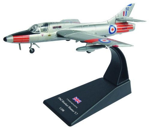 Hawker Hunter T.7 diecast 1:100 fighter model