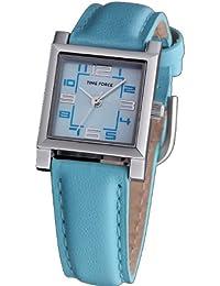 Reloj TIME FORCE para niña/señora. Acero Correa de piel. Azul. TF-3082B03