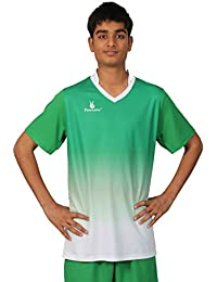 Triumph Men's Polyester Soccer Green V Neck Uniform (XXXL)