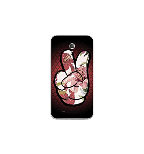 Housse Coque Etui Alcatel One Touch Go Play silicone gel Protection arrière - Swag Hand Couleur