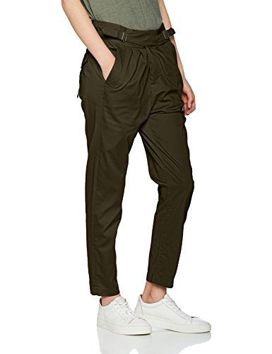 G-STAR RAW Bronson Army Mid Friend Chino Wmn, Pantaloni Donna Verde (Forest Night 5163)