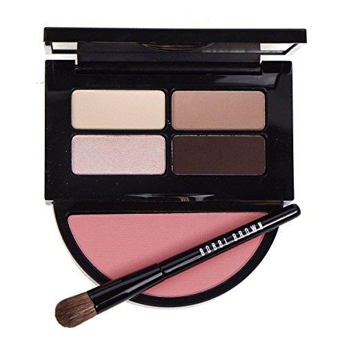 Bobbi Brown Instant Pretty Eye & Cheek Palette (3x Eye Shadow, 1x Metallic Eye Shadow, 1x Blush, 1x Mini Eye Shadow Brush) (Shadow Blush Palette)