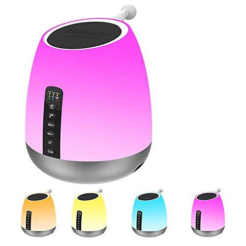 CQL LED-Booth-Musik Licht, das Aufladen bunten Nachtlicht-Touch-Einstellung leuchtet Umweltschutzmaterialien (Schalter Licht Sie Ändern Wand)