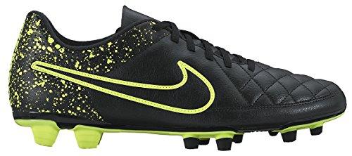 Nike Herren Tiempo Rio Ii Fg Fußballschuhe Schwarz / Grün (Schwarz / Schwarz-Volt)
