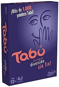 Hasbro Gaming Gaming Tabú Clásico, 26.7 x 20.1 x 5.1 (Hasbro Spain A4626105)