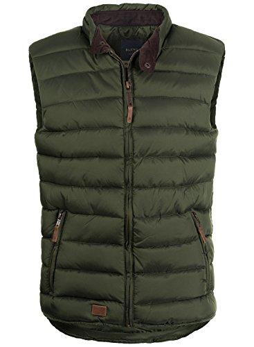 BLEND Cam - Gilet da Uomo, taglia:XL;colore:Duffel Bag Green (77019)