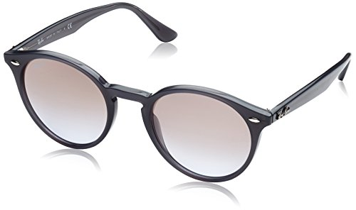 Ray-Ban Gradient Rectangular Men's Sunglasses - (0RB218062309451|51|Violet Gradient, Brown and Mirror Silve) image
