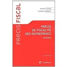 Précis de fiscalité des entreprises 2013-2014