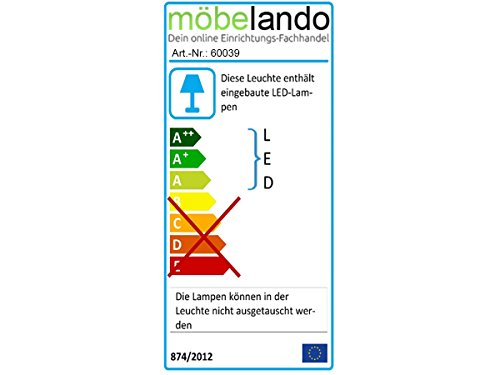"Kommode Sideboard Anrichte TV-Lowboard Lowboard in inkl. Beleuchtung ""Light"" (Kommode (60039) 69 x 108 x 34 cm) - 6"
