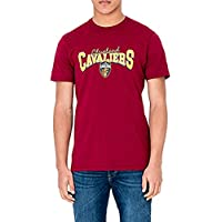 A NEW ERA Camiseta NBA Cleveland Cavaliers Team Apparel Granate Talla: XXS (XX-