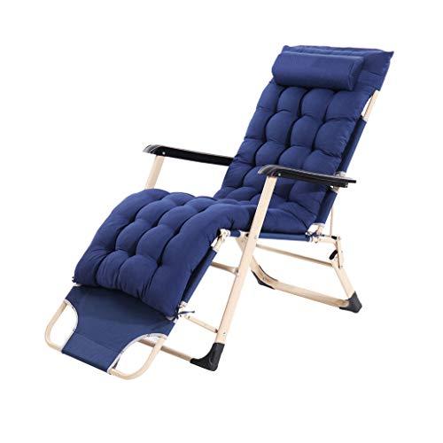 FH Liegestuhl, Tragbarer Bürostuhl Mit Doppeltem Verwendungszweck Bürostuhl Mit Bett, Marine